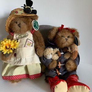 The bearington collection 2 teddies